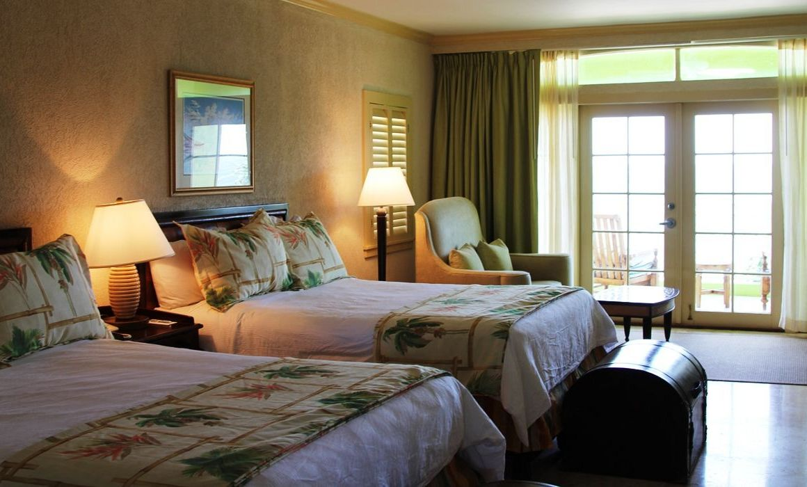 Junior Suite, Oceanfront, 2 Queen Beds